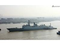 第25艘054A護衛艦海試 054B即將亮相護航母