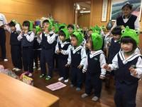 耶誕送愛到約旦 花蓮幼兒穿著超萌青蛙裝唱跳募款