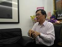 陳水扁低調北上 參加凱達格蘭基金會董事尾牙