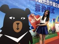 超萌!「喔熊組長」變身熱氣球飛向世界 明年台東亮相