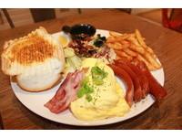 給你滿~滿~的~大早餐!CP值超高的「皇室拼盤」