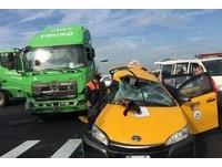 聯結車撞小黃...日客搭郵輪抵台中港 1小時後慘死