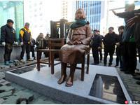 日領事館前設「少女」象徵慰安婦 韓團體:國民的勝利