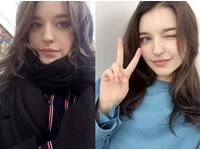 俄20歲「天使妹子」美到犯規! 天然長腿、電眼迷翻歐巴