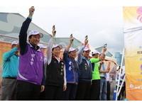 花蓮東海道超馬開跑創意市集也登場 選手遊客共迎曙光