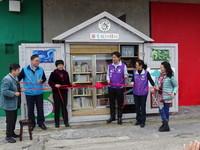 花蓮首間圖書旅行驛站再升級 維納斯藝廊驛站閱讀開門