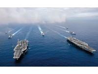 川普擬增兵東亞 組「雙航母戰鬥群」嚇阻中國