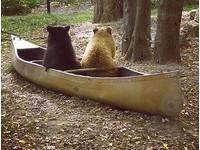 Q圓小熊ㄎㄟˋ修「划船」冒險:走!到那邊抓鮭魚啦~