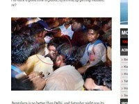 「印度矽谷」跨年集體性騷 官員:女孩穿著太像西方人