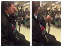 大叔捷運車廂狂挖鼻孔 抓桿變成「鼻屎樹」嚇壞乘客!