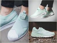 石英粉、寧靜藍退位!6款清新薄荷綠球鞋 越看越生火