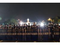 馬元旦祝詞未提反媒體壟斷 抗議學生跨年苦守失望憤怒