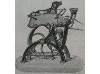 19世紀怪怪發明 「狗動力縫紉機」拯救女工玉手