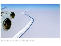 南極冰架裂痕暴增 「0.17個台灣大」崩離冰山3月現形?