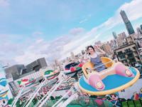 藏有童年回憶的高雄空中樂園!夢幻彩繪搭挑高美景超好拍