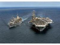中國遼寧艦3~4天就需補給 英媒:難與美國核航母匹敵