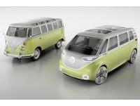 麵包車裝上馬達和自動駕駛 福斯ID Buzz概念致敬經典
