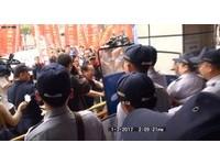 抗議香港社運人士爆衝突 警傳喚2男!妨害公務罪移送