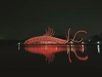 搶先看!65米「魚燈隧道」掛1500顆燈籠 傳藝中心新亮相