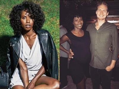 黑人女星波许晒9月孕肚照 网友酸「黑肚」看起来好脏
