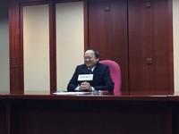 怒轟行政院逼辭職 葉金川:難道我辭職血量就會夠嗎?