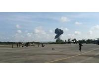 空軍上將之子駕「獅鷲」墜毀 泰國兒童節飛行表演變色