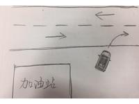 別當三寶!開出加油站「切進車道」方向燈打左還右 網友吵翻