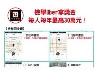 宣戰Uber!小黃司機自組100人檢舉大隊 還做教學懶人包