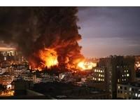 泰豐輪胎火燒6小時黑煙衝天! 環保署:戴奧辛沒明顯汙染