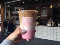 台南少女系乾燥花世界!有酸香滋味的草莓咖啡拿鐵