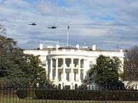 直升機盤旋拉警報!「民調最低總統」川普就職掀抗議高潮
