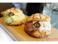 台中刑務所演武場也吃得到冰淇淋菠蘿麵包!