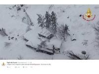 義大利地震引山區雪崩埋旅館 至少30人遭活埋!