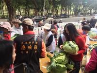 幫助農民、支持環保 應曉薇義賣1萬顆高麗菜
