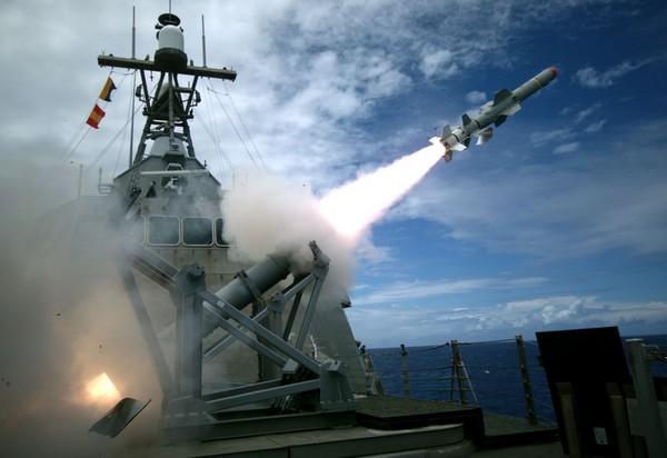 科羅納多號濱海戰鬥艦(LCS 4)於2016年7月19日成功地使用魚叉1C導彈。(圖/翻攝自美國海軍官網)