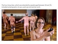 裸體健身開合跳 上這堂課把女教練全身看光光