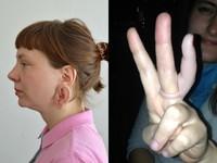 敢戴嗎? 超逼真「耳朵耳環」、「手指戒指」嚇壞人