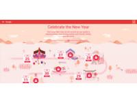 「Google歡喜迎金雞」賀歲網站上線!初一到十五都應景