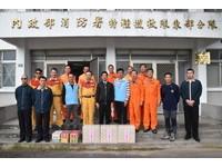 張國洲慰勞春安工作人員 代表台東市民致謝意