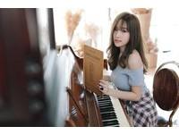 曼谷「4國混血」奶妹傲人 只是彎個腰!鋼琴差點垮了