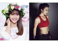 年僅19歲的越南正妹拳擊手黎顏(Khả Ngân),長相甜美可愛的她,還是一位白富美。(圖/翻攝自臉書)