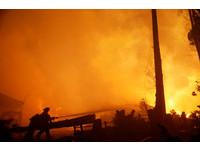 智利史上最嚴重森林火災7人喪命 燃燒面積約7個北市大