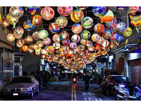 小巷到大街都是超美燈籠!普濟殿點燈活動繽紛台南夜空