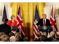 英國記者提問太犀利 川普擺臭臉:英美關係到此結束!