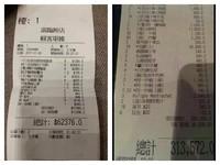 香港過年驚見「超天價」帳單 網哭:一頓我能吃10年!