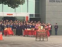 缺席開工典禮 知情人士:郭董親飛深圳高規格迎賓客