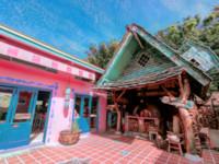 根本是童話花園!新竹隱藏美味 粉紅小屋吃手工窯烤披薩