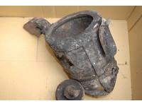 百年古蹟關帝廟後殿被燒毀 文昌肚裡藏「200年錫製香爐」