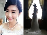 夏如芝披絕美婚紗秀超大鑽戒 網驚:要嫁了?