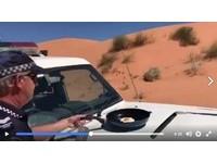 澳洲熱浪創47度歷史最高溫   警車引擎蓋上煎熟荷包蛋